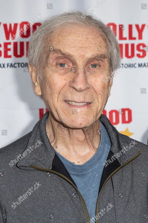 Peter Mark Richman arrives for the unveiling of the 'Batman' and 'The Six Million Dollar Man' exhibitions at the Hollywood Museum in Los Angeles, California, USA, 14 May 2019. The Batman exhibition marks the 80th anniversary of the superhero.