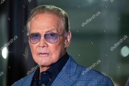 Lee Majors attends the unveiling of the 'Batman' and 'The Six Million Dollar Man' exhibition at the Hollywood Museum in Los Angeles, USA, 14 May 2019. The Batman exhibition marks the 80th anniversary of the superhero.