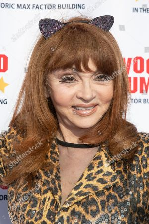 Judy Tenuta arrives for the unveiling of the 'Batman' and 'The Six Million Dollar Man' exhibition at the Hollywood Museum in Los Angeles, California, USA, 14 May 2019. The Batman exhibition marks the 80th anniversary of the superhero.