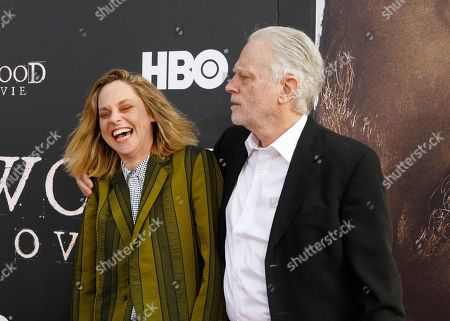 Stock Image of Fiona Dourif and Brad Dourif