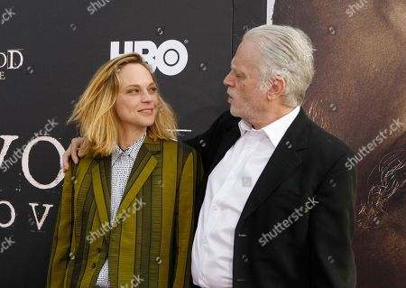 Fiona Dourif and Brad Dourif
