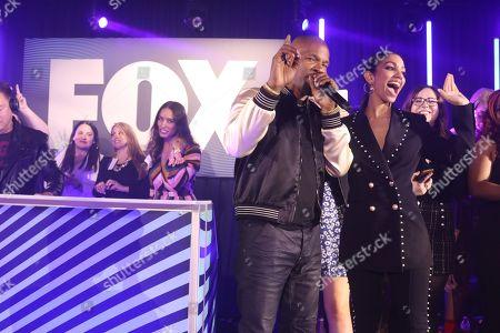 Jamie Foxx and Corinne Bishop