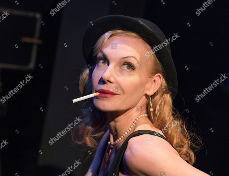 Editorial picture of 'Rendezvous with Marlene' Cabaret performed by Ute Lemper at the Arcola Theatre, London, UK, 15 May 2019