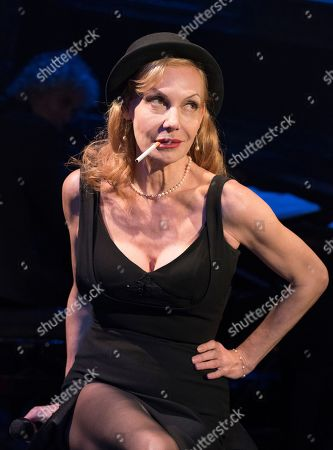 Editorial photo of 'Rendezvous with Marlene' Cabaret performed by Ute Lemper at the Arcola Theatre, London, UK, 15 May 2019