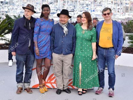 Benoit Delhomme, Alice Diop, Rithy Panh, Sandrine Marques and Nicolas Naegelen