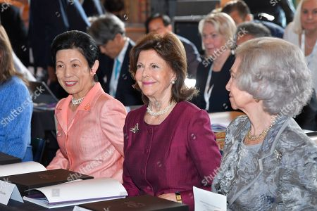 Princess Takamado of Japan, Queen Silvia of Sweden and Former Queen Sofia of Spain