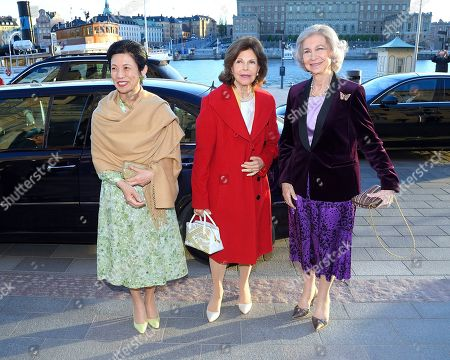 Princess Takamado of Japan, Queen Silvia and Former Queen Sofia of Spain