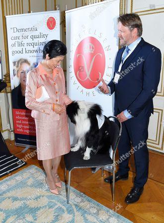 Princess Takamado of Japan och Øystein Johannessen Quiding