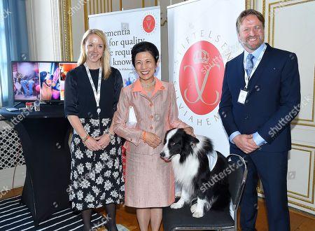 Petra Tegman, Silviahemmet, Princess Takamado of Japan, Øystein Johannessen Quiding