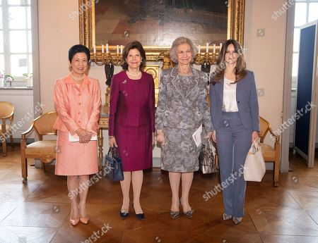 Princess Takamado, Queen Silvia of Sweden, Former Queen Sofia and Princess Sofia of Sweden