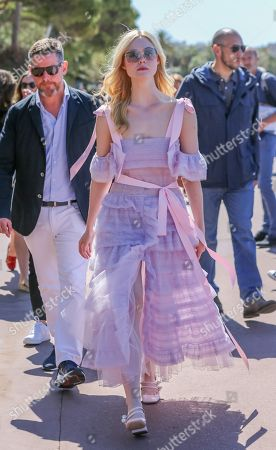 Elle Fanning out and about, 72nd Cannes Film Festival