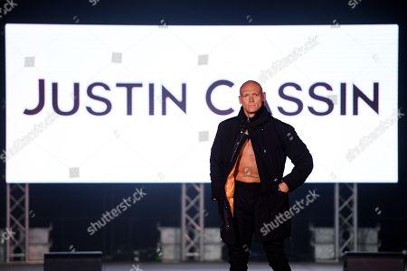Editorial image of Justin Cassin - Runway - Mercedes-Benz Fashion Week Australia, Sydney - 15 May 2019