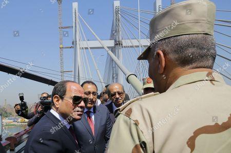 Editorial photo of Egypt's President al-Sisi attends opening of Rawd Al-Faraj Axis Bridge, Cairo - 15 May 2019