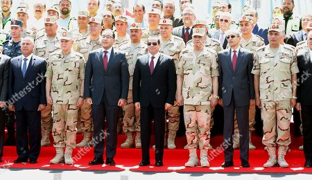 Editorial picture of Egypt's President al-Sisi attends opening of Rawd Al-Faraj Axis Bridge, Cairo - 15 May 2019