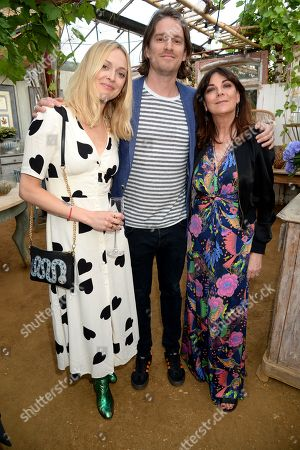Fearne Cotton, Jesse Wood and Susan Young