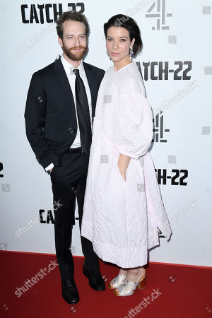 Editorial image of 'Catch-22' TV show premiere, London, UK - 15 May 2019