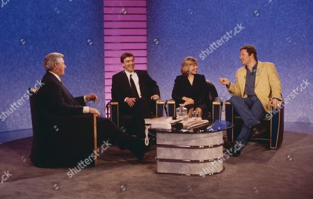 Michael Aspel, John McCarthy, Jill Morrell, and Rory Bremner.