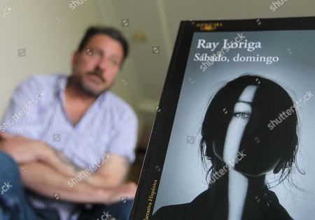 Spanish writer Ray Loriga, Alfaguara Award 2017 laureate, grants an interview to Efe, in Mexico City, Mexico, 15 May 2019, during which he confessed that, as a soccer fan, he gets bothered when soccer players pretend to get advantage and that he would have them sanctioned for lack of fair play.