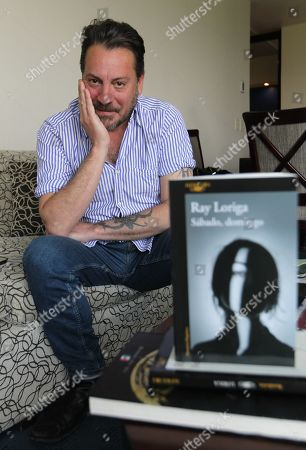 Editorial photo of Ray Loriga interview in Mexico City - 15 May 2019