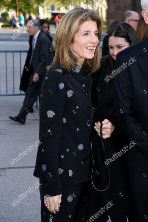 Editorial photo of Statue of Liberty Museum opening ceremony, Arrivals, New York, USA - 15 May 2019