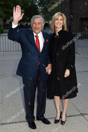 Stock Image of Tony Bennett and Susan Crow