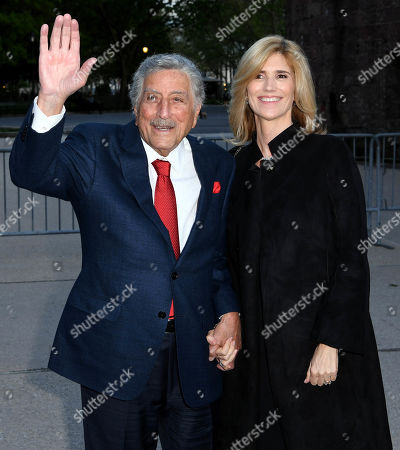 Stock Photo of Tony Bennett and Susan Crow
