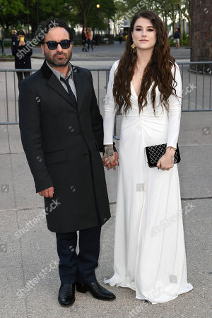 Johnny Galecki and Alaina Meyer