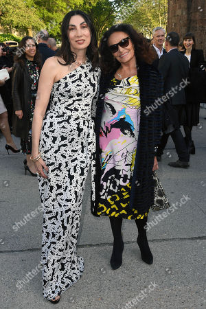 Anh Duong and Diane von Furstenberg