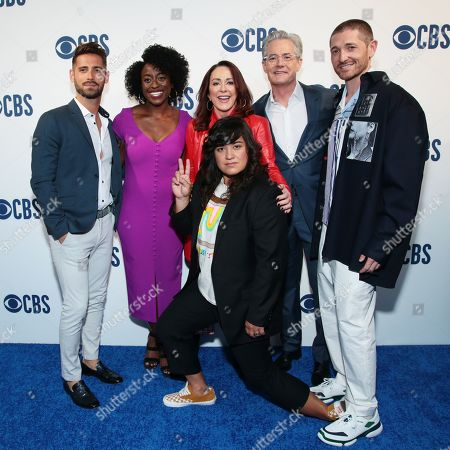Jean-Luc Bilodeau, Ito Aghayere, Patricia Heaton, Sabrina Jalees, Kyle Maclachlan, and Lucas Neff