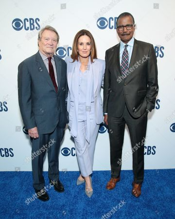 Robert Kroft, Sharyn Alfonsi, and Bill Whitaker