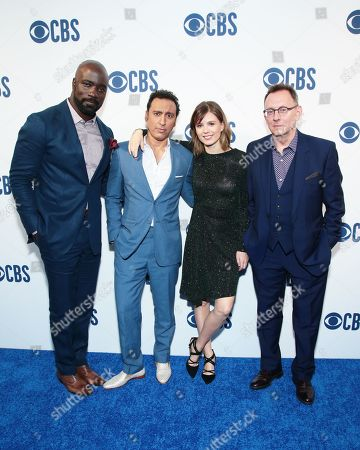 Mike Colter, Aasif Mandvi, Katja Herbers, and Michael Emerson
