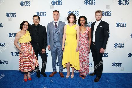 Editorial image of CBS Upfront Presentation, Arrivals, Todd English Food Hall at The Plaza Hotel, New York, USA - 15 May 2019