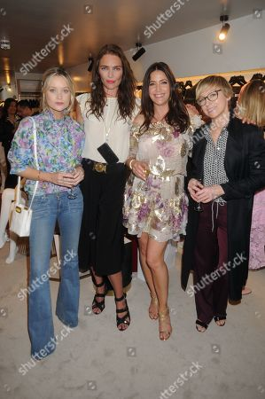 Laura Whitmore and Jodie Kidd and Lisa Snowdon and Jo Elvin
