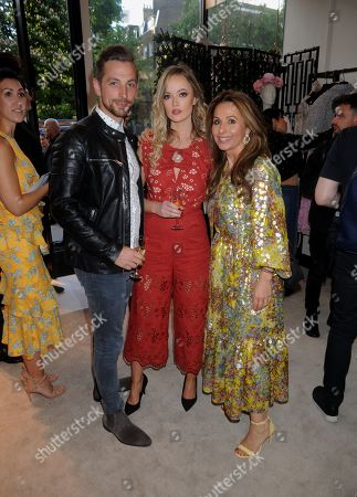 Zac Johnson, Charli Fisher and Elena Antoniadis
