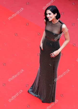 Rocio Munoz Morales arrives for the screening of 'Les Miserables' during the 72nd annual Cannes Film Festival, in Cannes, France, 15 May 2019. The movie is presented in the Official Competition of the festival which runs from 14 to 25 May.