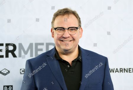 Andy Richter attends the WarnerMedia Upfront at Madison Square Garden, in New York