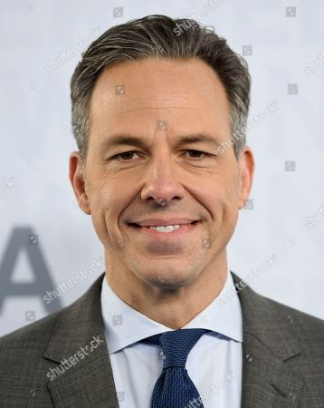 CNN news anchor Jake Tapper attends the WarnerMedia Upfront at Madison Square Garden, in New York