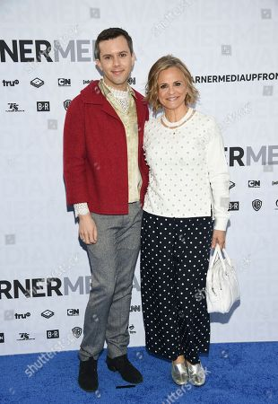 Cole Escola, Amy Sedaris. Cole Escola, left, and Amy Sedaris attend the WarnerMedia Upfront at Madison Square Garden, in New York