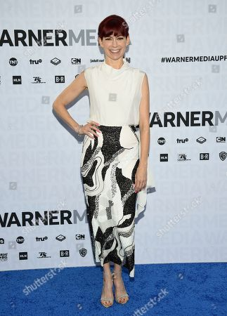Carrie Preston attends the WarnerMedia Upfront at Madison Square Garden, in New York