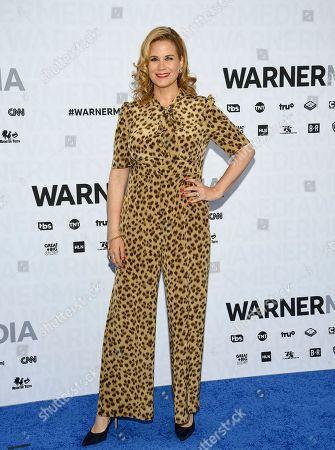 Allana Harkin attends the WarnerMedia Upfront at Madison Square Garden, in New York