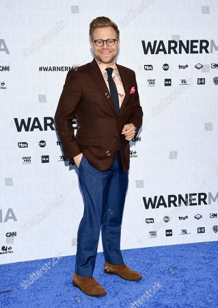 Stock Image of Adam Conover attends the WarnerMedia Upfront at Madison Square Garden, in New York