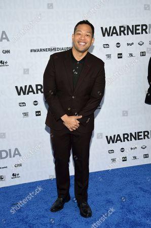 Eugene Cordero attends the WarnerMedia Upfront at Madison Square Garden, in New York