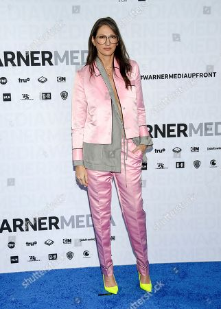 Jenna Lyons attends the WarnerMedia Upfront at Madison Square Garden, in New York