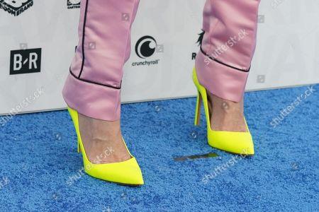 Jenna Lyons, shoe detail
