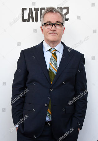 Stock Photo of Luke Davies arrives for the premiere of 'Catch 22' in London, Britain, 15 May 2019. Produced and directed by George Clooney, the TV adaptation of the classic satirical novel Catch-22 is set to air in 2019.