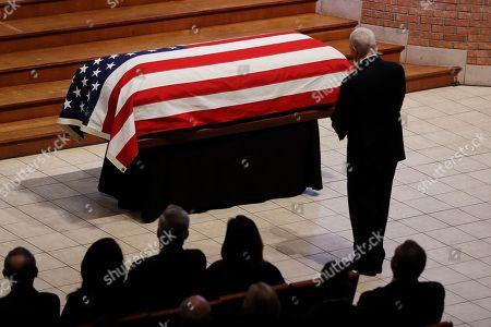 Editorial photo of Richard Lugar Funeral, Indianapolis, USA - 15 May 2019