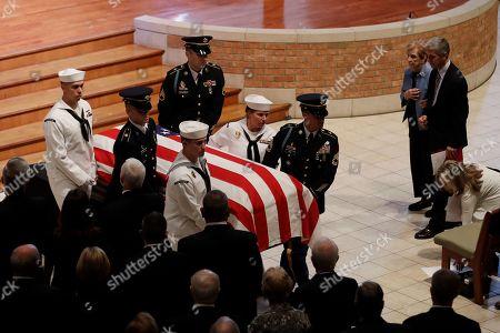 Editorial image of Richard Lugar Funeral, Indianapolis, USA - 15 May 2019