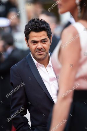 Jamel Debbouze poses for photographers upon arrival at the premiere of the film 'Les Miserables' at the 72nd international film festival, Cannes, southern France