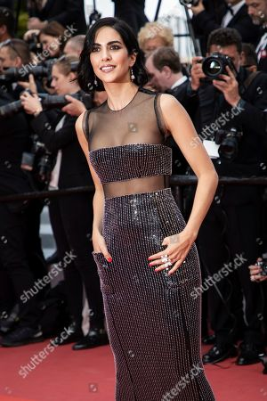 Rocio Munoz Morales poses for photographers upon arrival at the premiere of the film 'Les Miserables' at the 72nd international film festival, Cannes, southern France