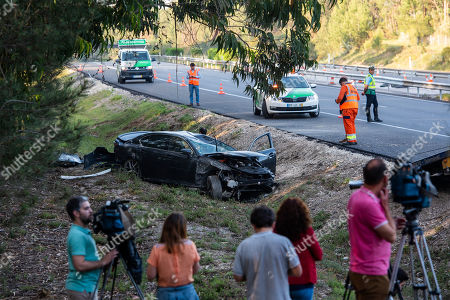 Editorial picture of Former Portugal?s Prime Minister suffered a traffic accident, Leiria, Portugal - 15 May 2019
